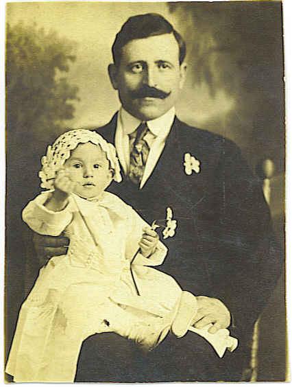 Catherine and Nick Sarris her Godfather 1918