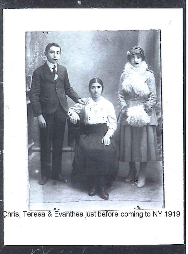 Chris, Teresa, Evanthea 1919